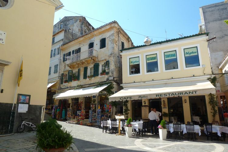 Городской ландшафт Корфу