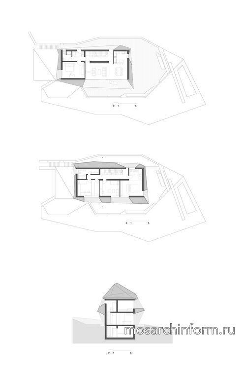 Дом врача от архитектурного бюро Scapelab, реализованный проект