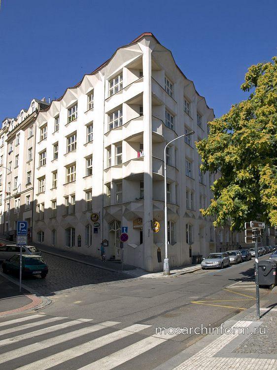 Чешская кубистская архитектура