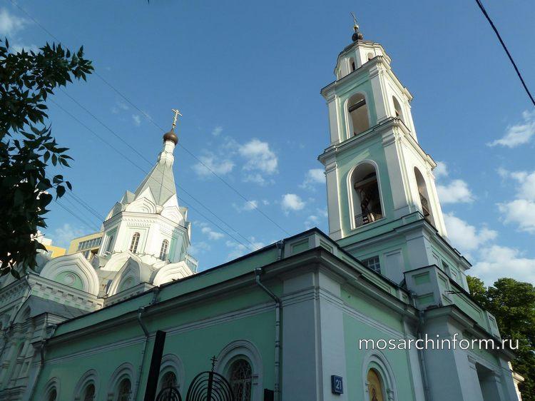 Улица Шаболовка, дом 21 Храм Живоначальной Троицы на Шаболовке - Фото пользователей сайта фото