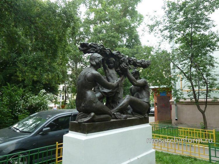 Памятник Советской семье ( Мещанский район Москвы) - Фото пользователей сайта фото