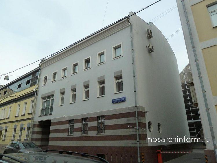 Москва, Последний переулок, дом 22, Доходный дом (1886, архитектор М. Г. Пиотрович). - Фото пользователей сайта фото