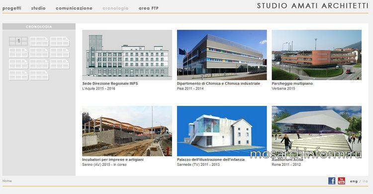 Итальянское архитектурное бюро Studio Amati Architetti
