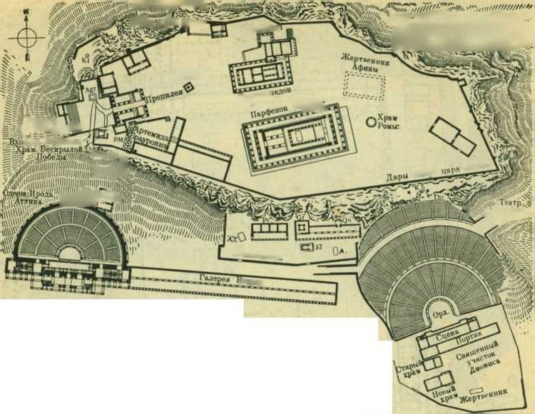 Периоды, греческая архитектура