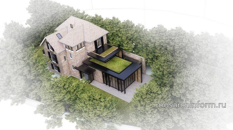 Дом на одну семью в пригороде (архитектурная студия Atelier Lame Architecture)