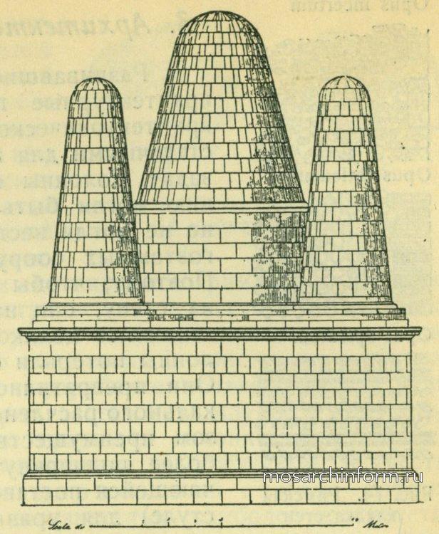 Этрусская гробница Альбано Римская архитектура
