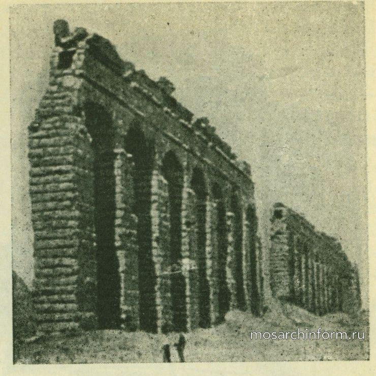 Римский водопровод - Римская архитектура