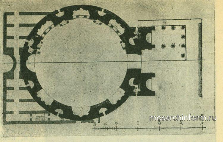 План Патиона в Риме - Римская архитектура
