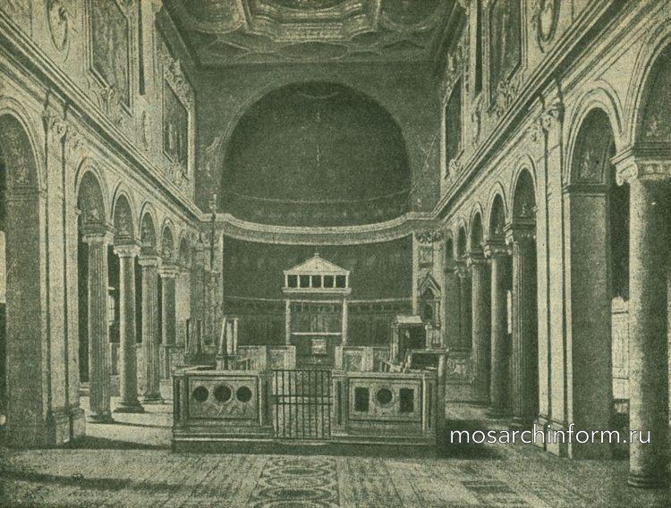 Базилика С.-Клементе в Риме - Развитие древнехристианской архитектуры и памятники