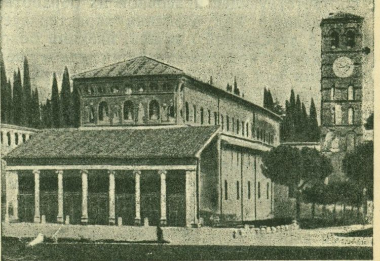 Базилика С.-Лоренцо фуори ле мура, Рим - Развитие древнехристианской архитектуры и памятники
