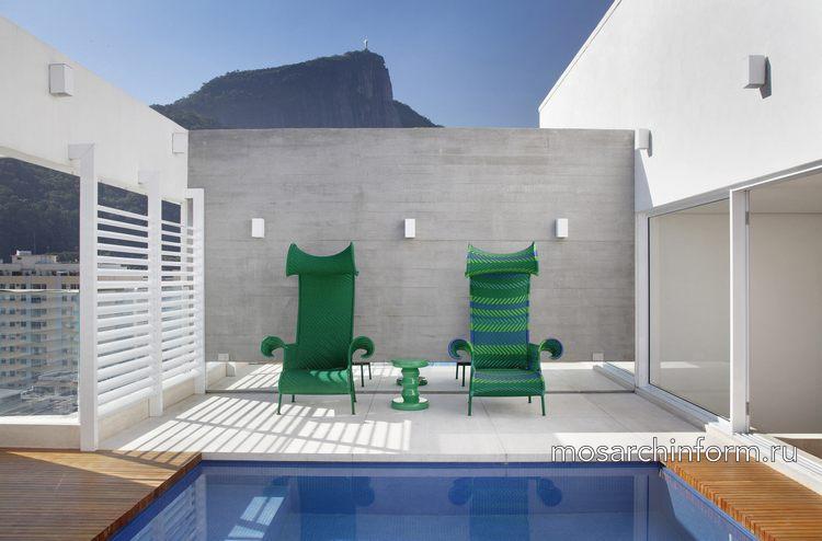 Резиденция JMF от Ivan Rezende Arquitetura