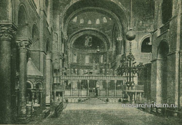 Санта Марко в Венеции - Византийская архитектура