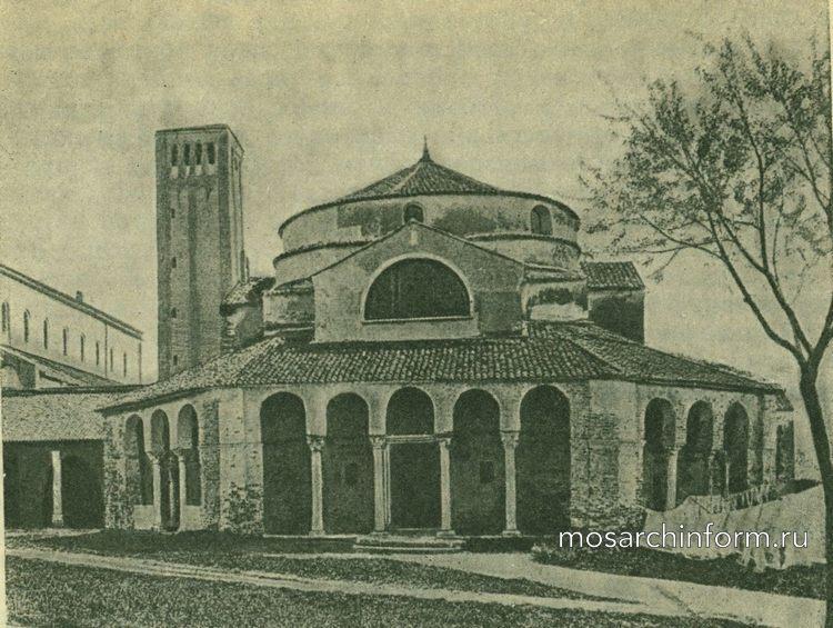 Санта-Фоска на о-ве Торчелло - Византийская архитектура