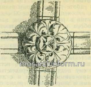 Романский замковый камень