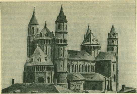 Вермский собор - Романская церковная архитектура