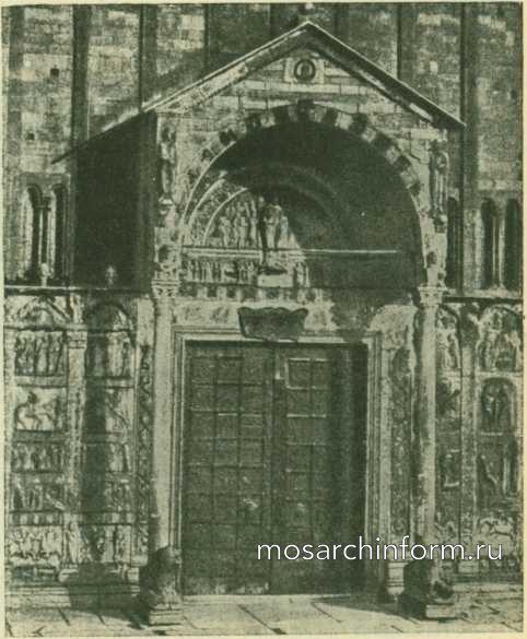 Портал базилики Сант-Дзено в Вероне - Романская архитектура Италии