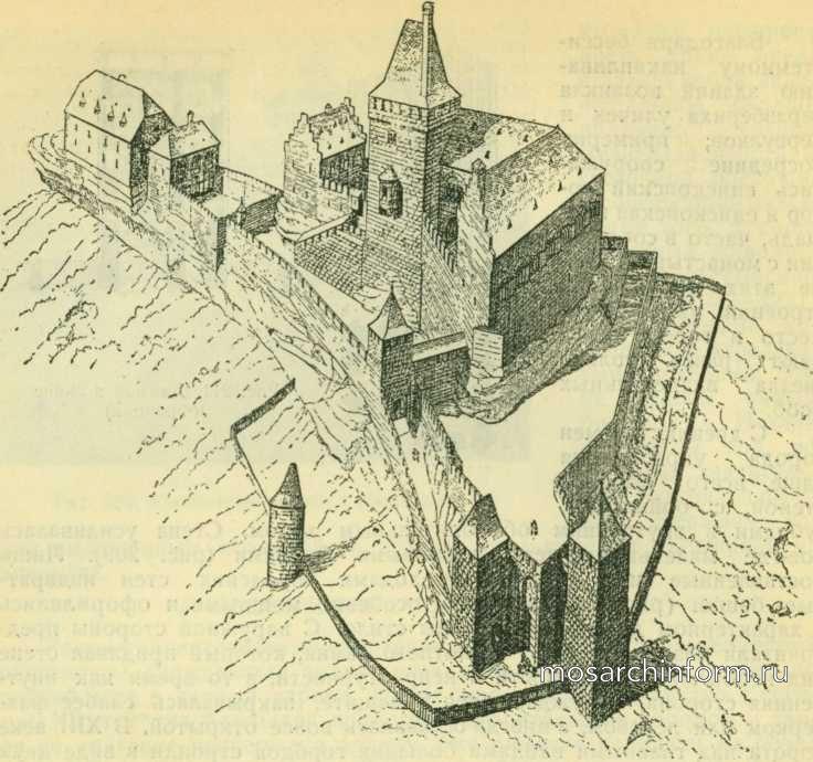 Реставрация крепости Трифельз - Романская гражданская архитектура