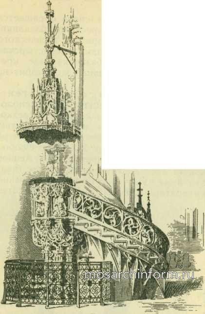Кафедра собора Стефана в Вене