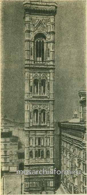 Кампанила Флорентийского собора - Готическая архитектура Италии
