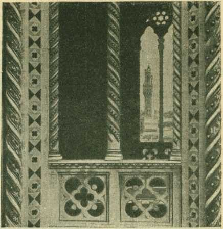 Оформление окна кампанилы Флорентийского собора