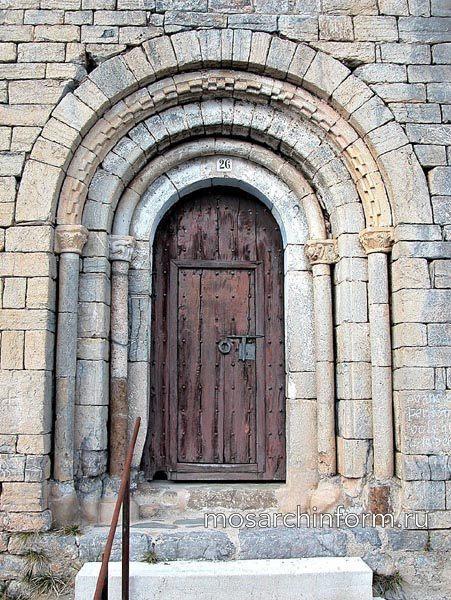 Портал - Романская архитектура