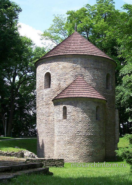 Ротонда Святого Николая в Цешине, Польша - Романская архитектура
