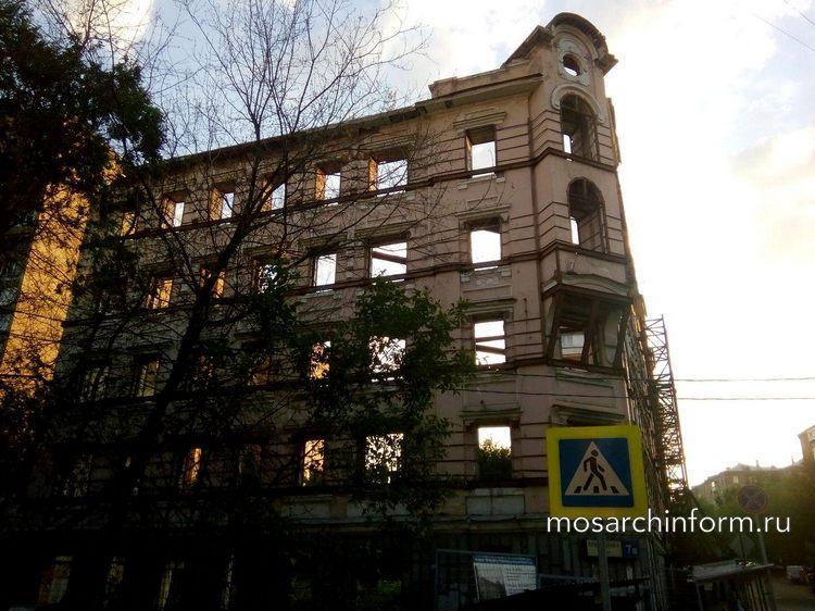 Доходный дом К. К. Нирнзее (1905г., Москва, улица Климашкина, 7/11) - Фото пользователей сайта фото