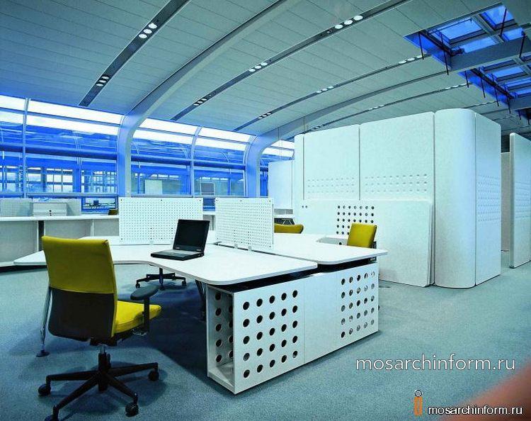 Дизайн интерьера офисов, Москва, Россия, зарубежье