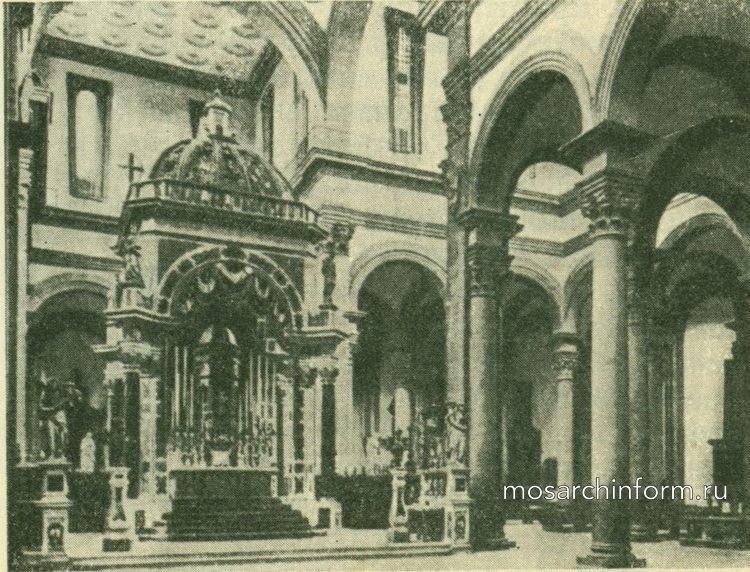 Важнейшие памятники раннего ренессанса в Италии