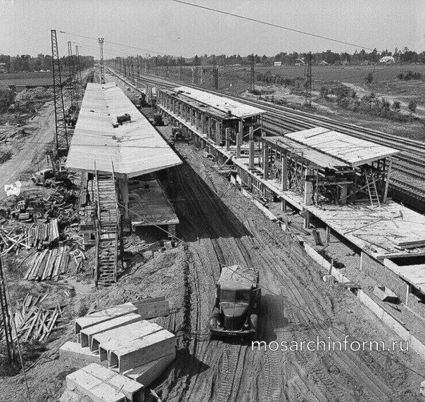 Станция Выхино (ранее Ждановская) 1966 год