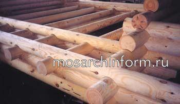 О технологии изготовления домов из оцилиндрованного бревна