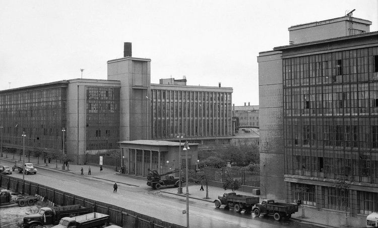 2-я проходная ЗиЛ, 1957 год - Фото пользователей сайта фото