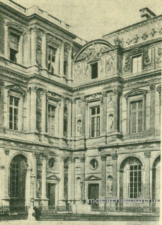 Двор Лувра (юго – западный угол), Париж