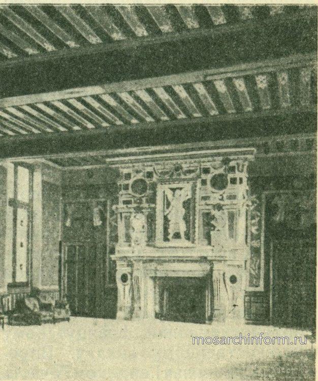 Зал замка Экуан - Архитектура ренессанса во Франции