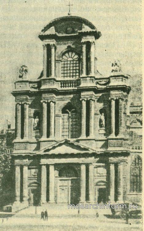 Церковь Cант Жерве в Париже. Архитектура ренессанса во Франции