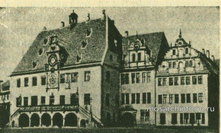 Архитектура ренессанса в германских странах
