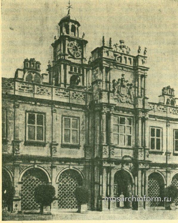 Хатфиль Хаус - Архитектура ренессанса в Англии