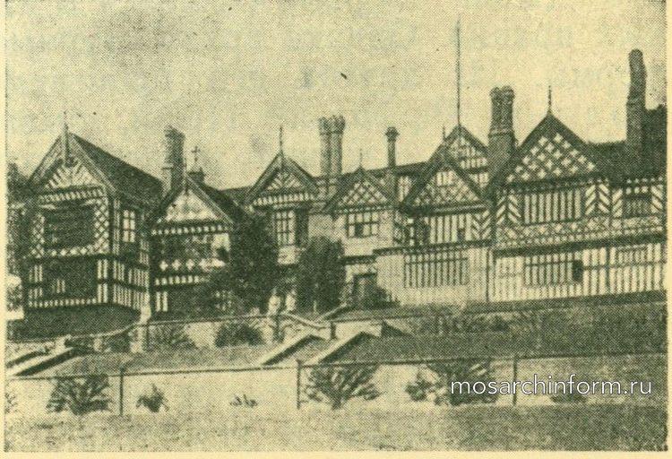 Бремол Холл близ Стокпорта - Архитектура ренессанса в Англии