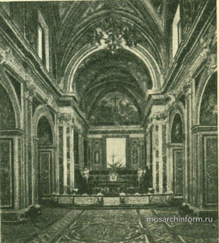 Церковь Картезианского монастыря с. Мартино в Неаполе