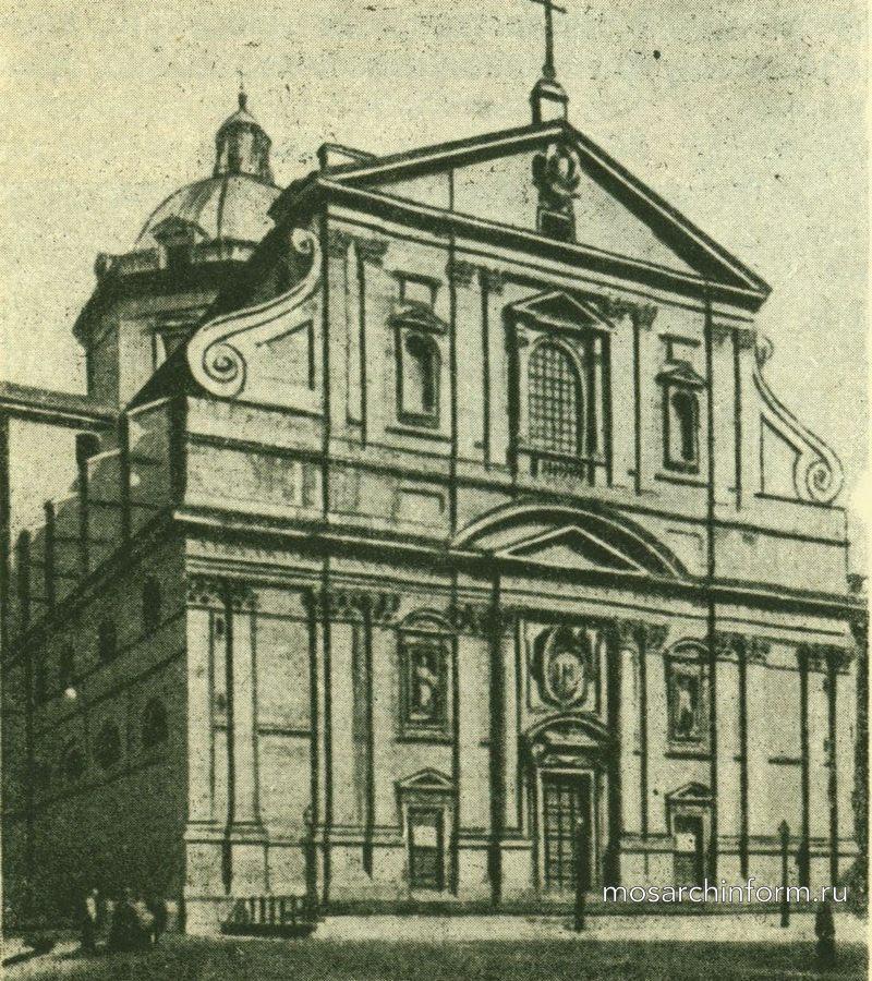 Иезуитская церковь (Иль Джезу) в Риме.