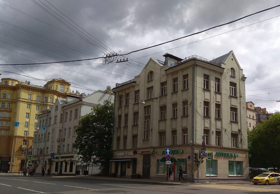 Москва, улица Гиляровского, дом 77