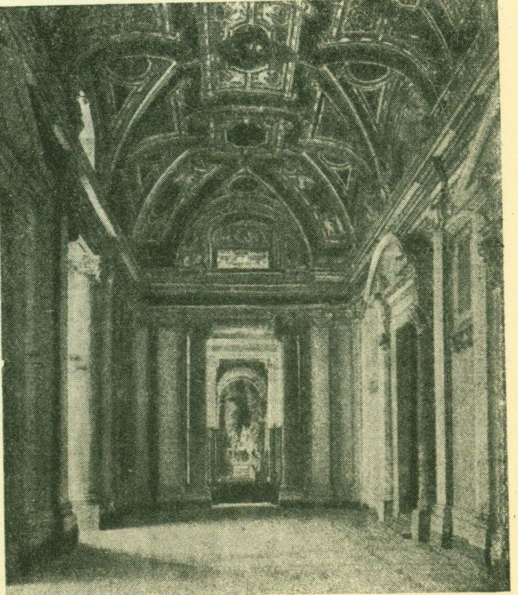 Притвор собора Петра в Риме