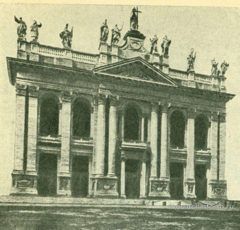 Важнейшие памятники итальянского барокко