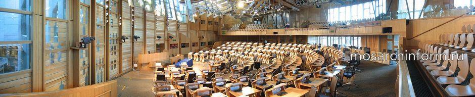 Зал заседаний шотландского парламента - Знаменитый архитектор Энрик Мираллес