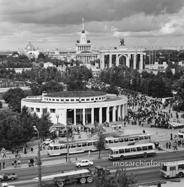 Станция метро ВДНХ, 1977 год - Фото пользователей сайта фото