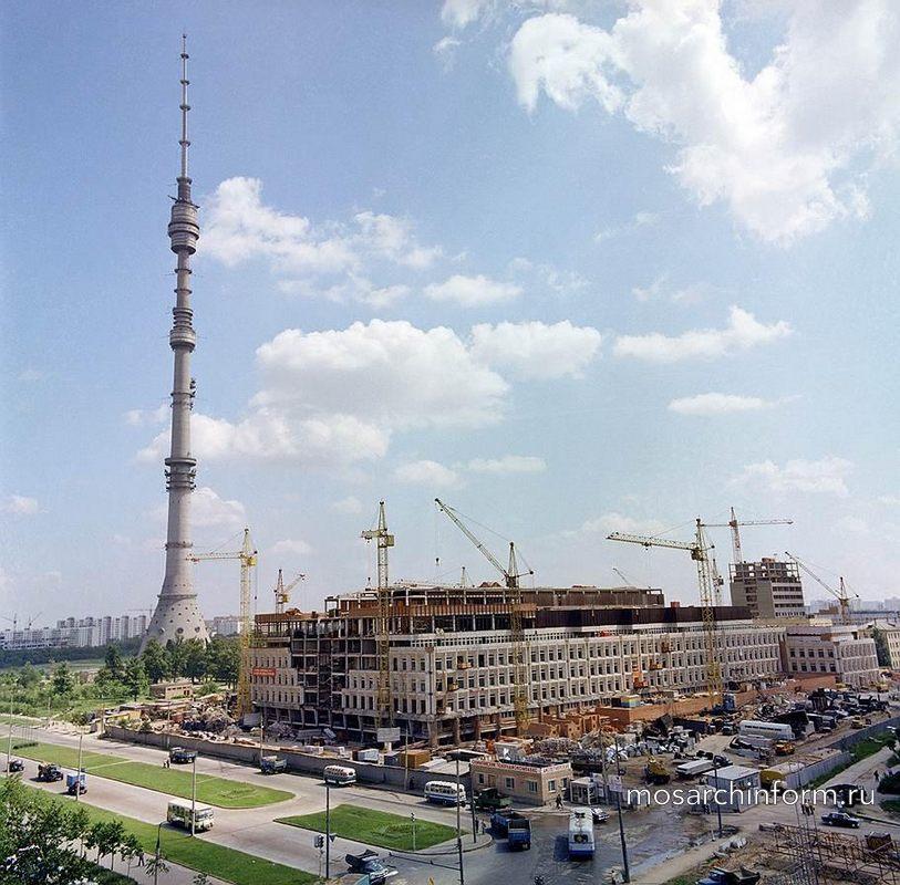 Строительство Аппаратно-студийного комплекса АСК-3 телецентра Останкино, 1977: - Фото пользователей сайта фото