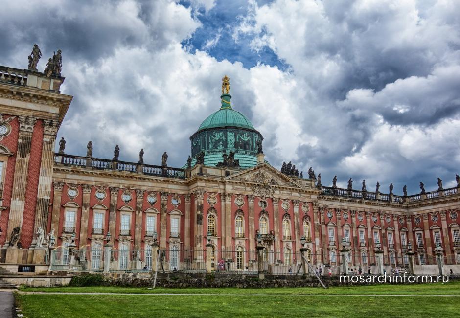 Потсдам, Новый Дворец Архитектура барокко ( архитектурный стиль)