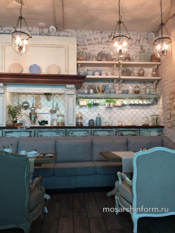 Примеры дизайна интерьера кафе и ресторанов - Москва, Россия, зарубежье