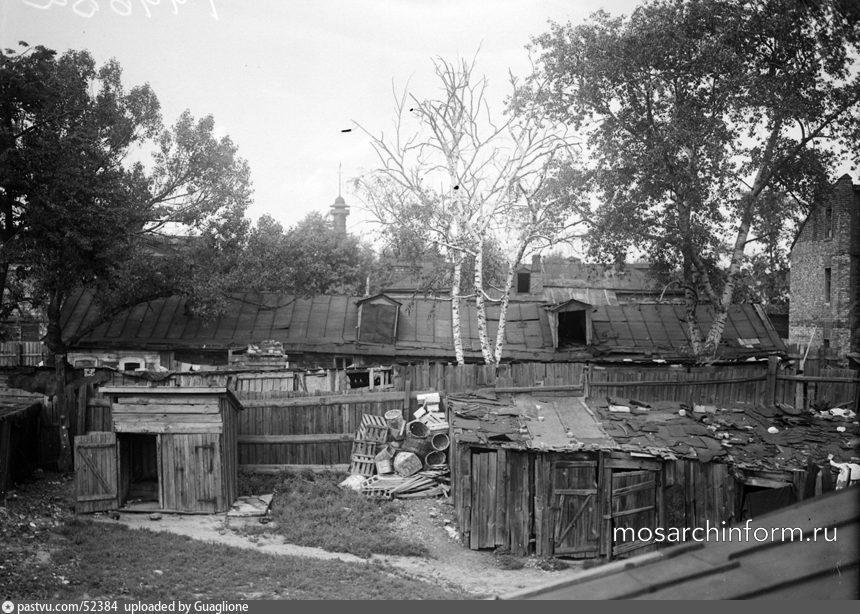 Район Сокольники. Вид на пожарную каланчу. Фото 1935 года. - Фото пользователей сайта фото