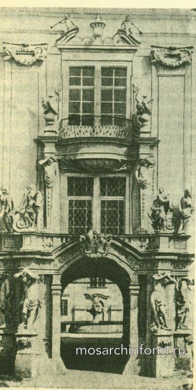 Важнейшие памятники периода Барокко и Рококо Портал церкви с. Флориана.
